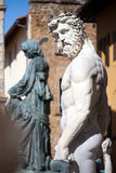 Neptune Fountain in Florence, Italy Royalty Free Stock Photo