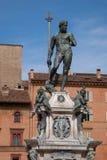 Neptune Fountain - Fontana del Nettuno; Bologna. Neptune Fountain - Fontana del Nettuno by Giambologna in 1566; Bologna; Italy royalty free stock photos