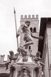 Neptune Fountain - Fontana del Nettuno; Bologna Royalty Free Stock Photo