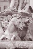 Neptune Fountain - Fontana di Nettuno by Ammannati (1565), Flore Royalty Free Stock Photo