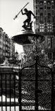 Neptune fountain in Gdansk stock photography