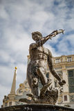 Neptune fountain in Gdansk, Danzig, Poland. Royalty Free Stock Photography