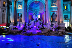 The Neptune fountain in Las Vegas Stock Photography