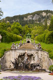 Neptune Fountain, Linderhof Germany 2 Stock Photo