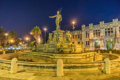 Neptune Fountain royalty free stock photography