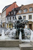 Neptune fountain, Paderborn Royalty Free Stock Photo