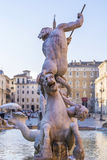 Neptune Fountain in Rome, Italy Royalty Free Stock Photo