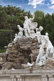 Neptune Fountain Schoenbrunn Royalty Free Stock Photography