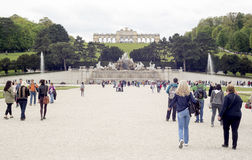 Neptune Fountain Schonbrunn Palace Royalty Free Stock Photo