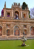Neptune Fountain, Seville Alcazar Royalty Free Stock Photos