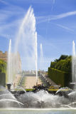 The Neptune fountain of Versailles Stock Photos