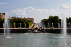 Neptune fountain, Versailles Royalty Free Stock Images