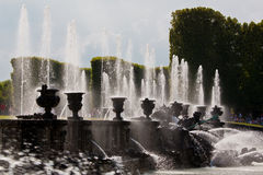 Neptune fountain, Versailles Stock Photos