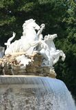 Neptune fountain in Vienna Royalty Free Stock Photo