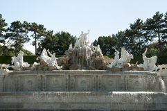 Neptune Fountain - Vienna - Austria Royalty Free Stock Photography