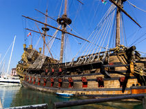 Neptune galeon in Genova Royalty Free Stock Photography