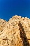 Neptune Grotto in Sardinia, Italy Stock Image