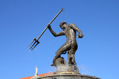Neptune In Gdansk Royalty Free Stock Images