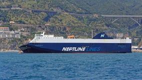 Neptune Lines Shipping Stock Photos