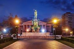 Neptune Monument and Drama Theatre, Batumi Georgia Royalty Free Stock Photography