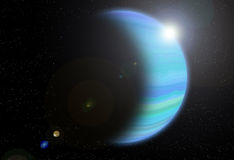 Neptune planet Royalty Free Stock Images