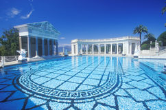 Neptune Pool at Hearst Castle, San Simeon, Central Coast, California Stock Images