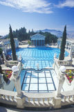 Neptune Pool at Hearst Castle, San Simeon, Central Coast, California Royalty Free Stock Photo