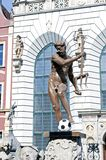 Neptune ready for Euro 2012 Stock Photo