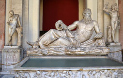 Neptune rzeźba Fotografia Royalty Free