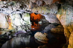Neptune's cave in Sardinia Royalty Free Stock Photography