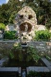 Neptune's fountain in Trsteno Stock Images