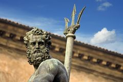 Neptune's portrait - bologna Stock Photos