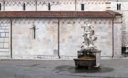 Neptune sculpture Royalty Free Stock Photo
