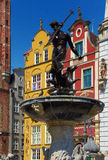 Neptune sculpture in gdansk Stock Photo