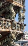 Neptune spansk gallion Arkivbild