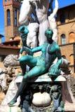 Neptune springbrunn Arkivbilder