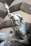 Neptune statue royalty free stock image