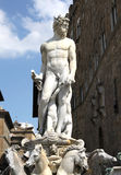 Neptune Statue in Florence Royalty Free Stock Images