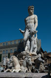 Neptune Statue - Florence Italy Stock Images