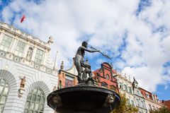 Neptune statue, Gdansk Stock Photos
