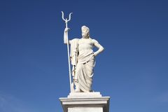 Neptune statue Stock Images
