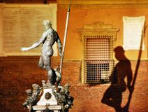 The Neptune Statue stock photos