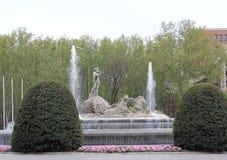 Neptune statue Stock Photography