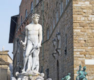 Neptune statue Stock Photos
