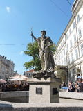 Neptune statue, Ukraine Royalty Free Stock Photos