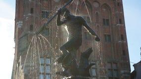 Neptune symbol of Gdansk Royalty Free Stock Images