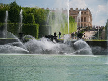 Neptunes garden in Versailles Paris Stock Photos