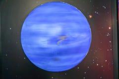 Neptunmodelsl, vetenskapliga begrepp till stjärnorna Arkivbild