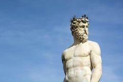 Neptuno en Florencia fotografía de archivo