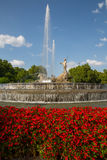 Neptuno fountain Royalty Free Stock Photography